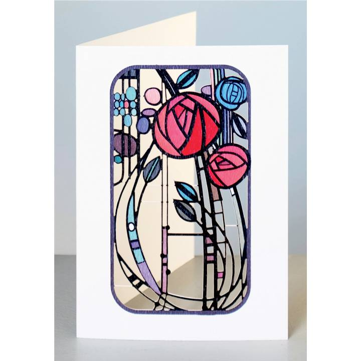 Abstract roses (pack of 6)
