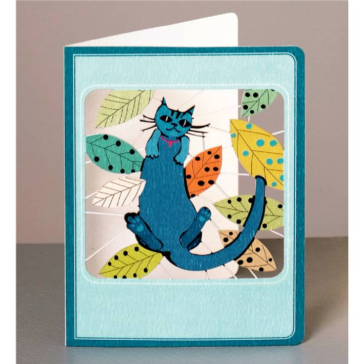 Blue cat (pack of 6)