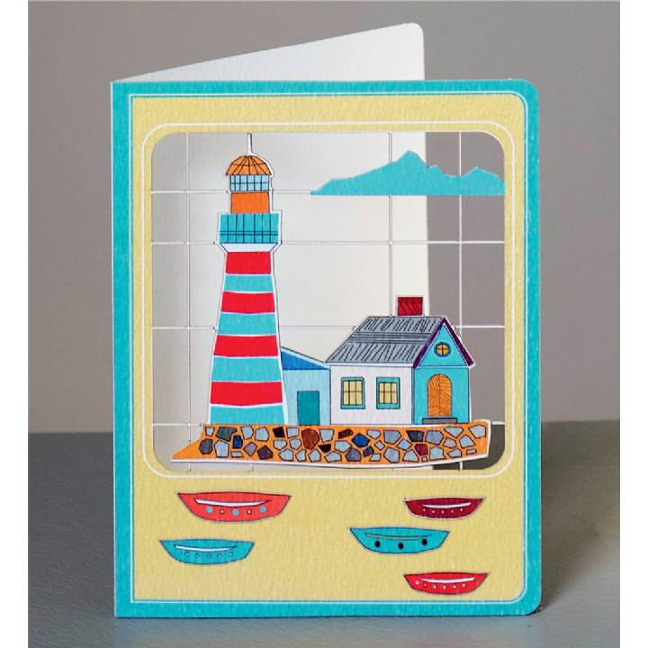 Iconic lighthouse   (pack of 6)