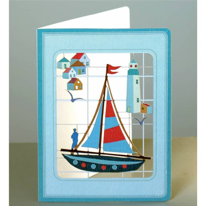 Sailing yacht (pack of 6)