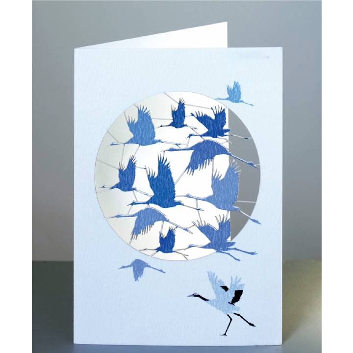 Flight of cranes (pack of 6)