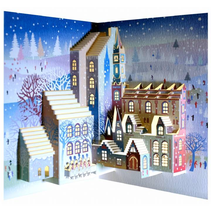 Christmas city (pack of 6)