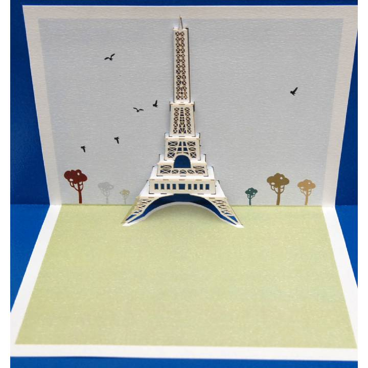 Eiffel Tower (pack of 6)