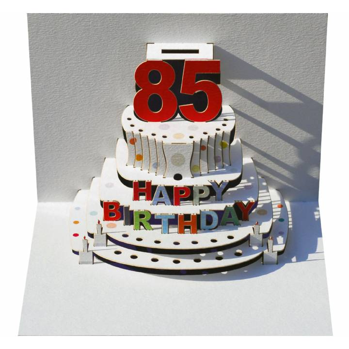 Age 85 Birthday Cake Pack Of 6