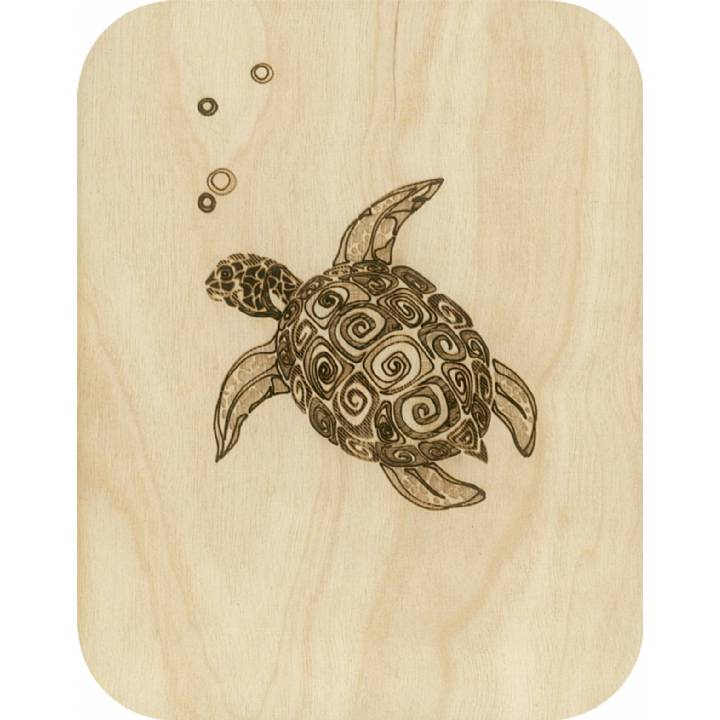Wooden - turtle (pack of 6)