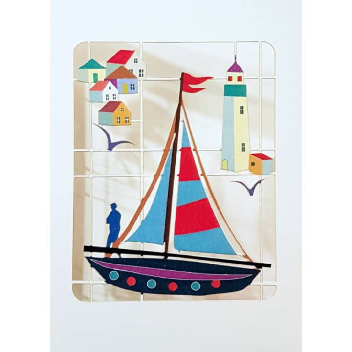 Fishing boat (pack of 6)