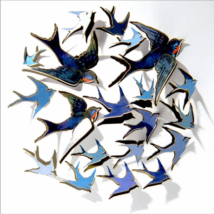 Swallows (pack of 6)