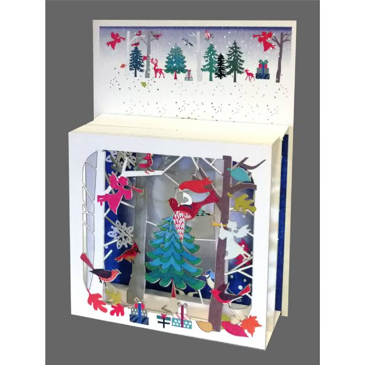 Christmas - Angels in the Forest (pack of 6)