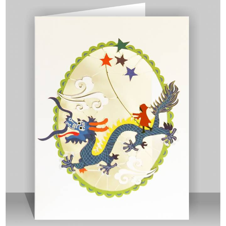 Chinese dragon (pack of 6)