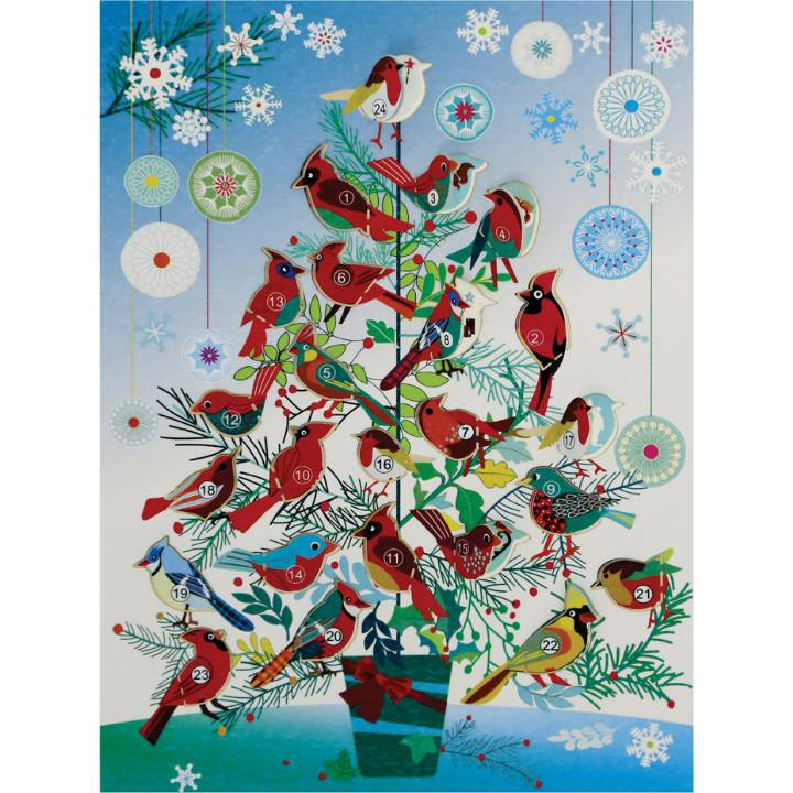 Advent Calendar - Birds (Pack of 6)