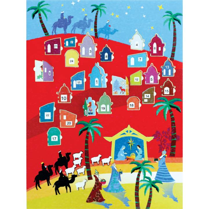 Advent Calendar - nativity (pack of 6)