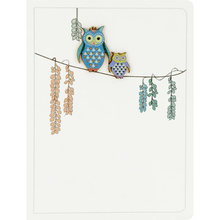 Owl & owlet (pack of 6)