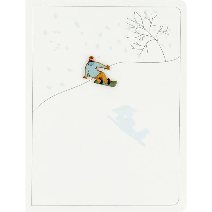 Snowboarding (pack of 6)