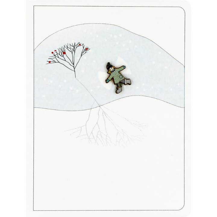 Snow angel (pack of 6)