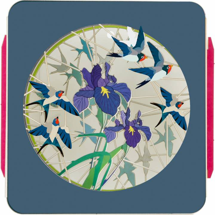 Art Box - Iris & Birds (Pack of 6)