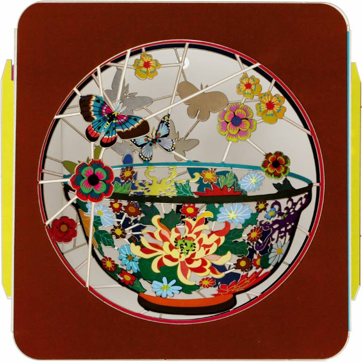 Art Box - Bowl & Butterflies (Pack of 6)