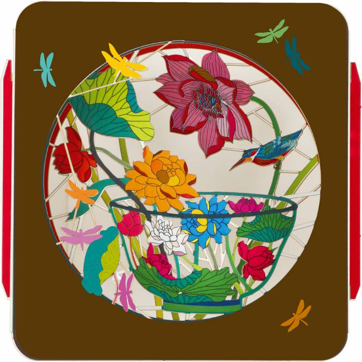 Art Box - Bowl & Flowers (Pack of 6)